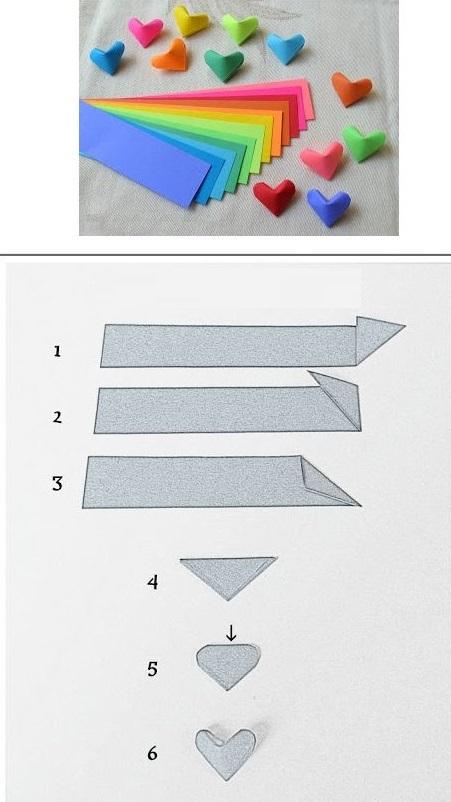 Как сделать объемные 5