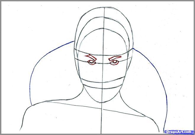 Рисуем брови поэтапно карандашом для начинающих