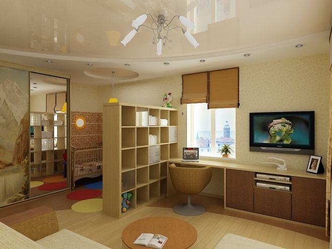 фото детская в однокомнатной квартире