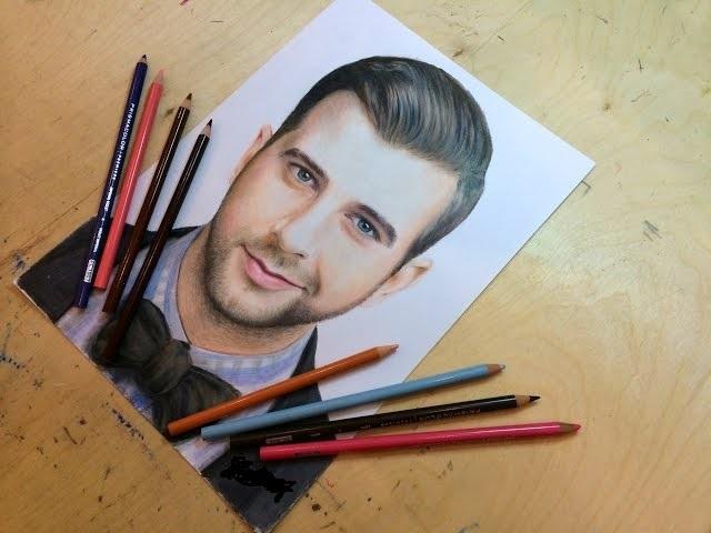 какие цветные карандаши подходят для рисования портретов