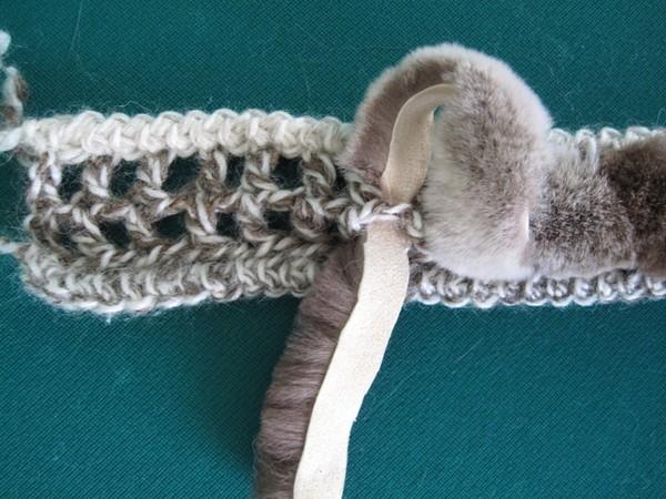 Вязание из шерсти жилетов