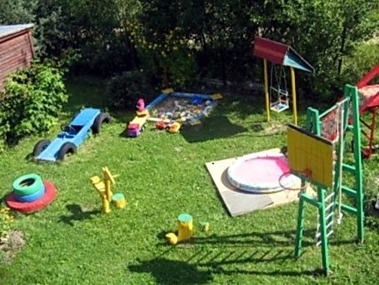Идеи оформления участков детского сада фото