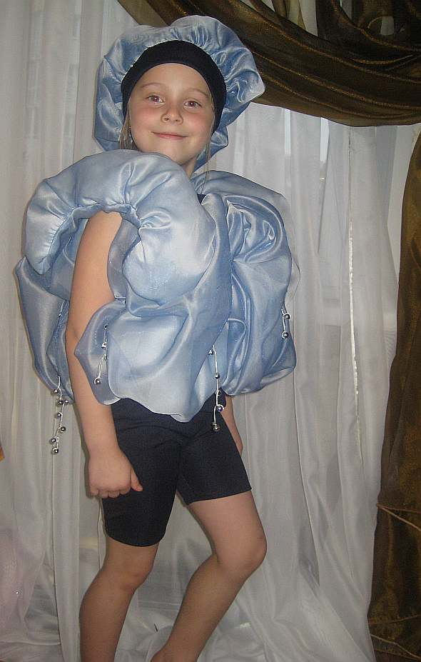 Как ребенку на утренник сделать костюм тучки?