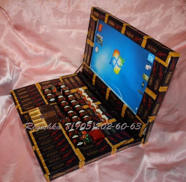 Подарок из конфет своими руками на день учителя