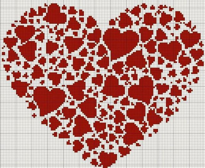 А это цветочное сердце,