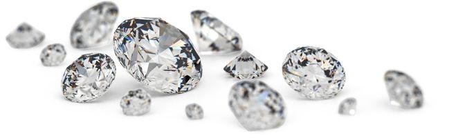 бриллианты, вес камней