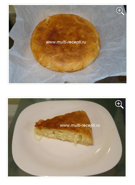 Рецепт для мультиварки пирог на кефире