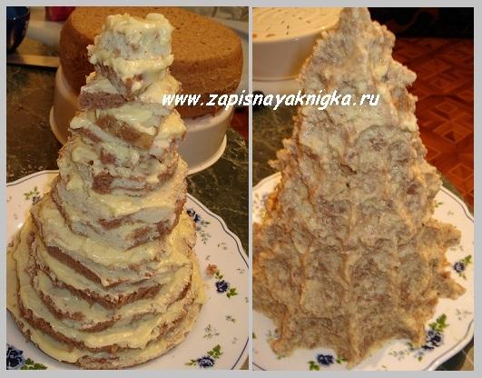 торт елка как приготовить