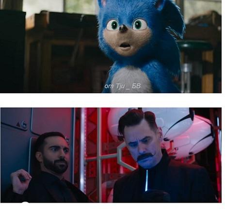 соник в кино 2019