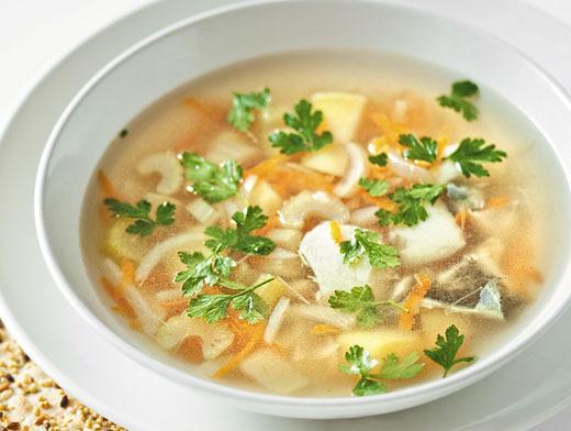 Рецепт супа из консервов рыбы