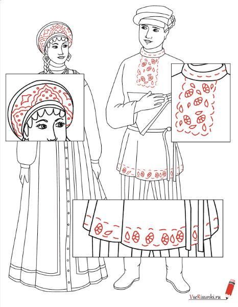 Как нарисовать мужчину в русском народном костюме поэтапно карандашом  63d3f9e2133a0