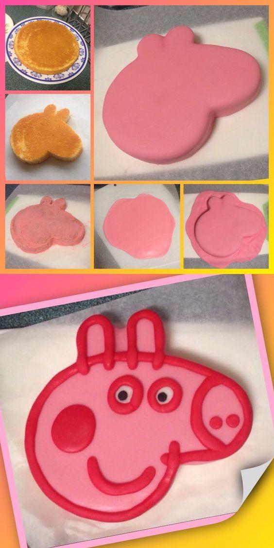 Как сделать торт свинка пеппа своими руками 100
