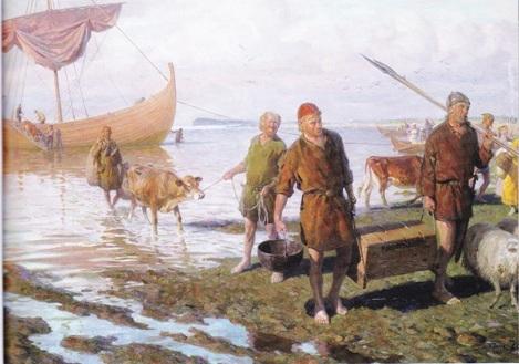 Чем торговали викинги на Пути из варяг в греки и не тлько ...  Скандинавы Викинги