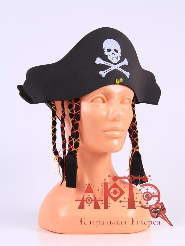 Как сделать пиратскую шляпу