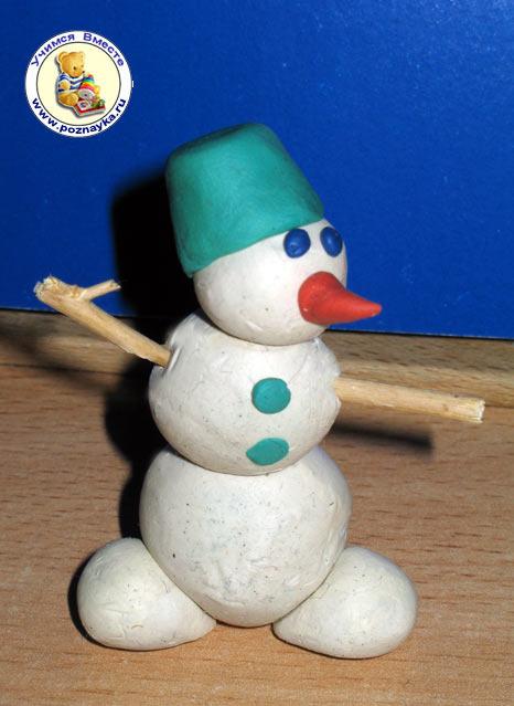Новогодние поделки своими руками для детского сада из пластилина