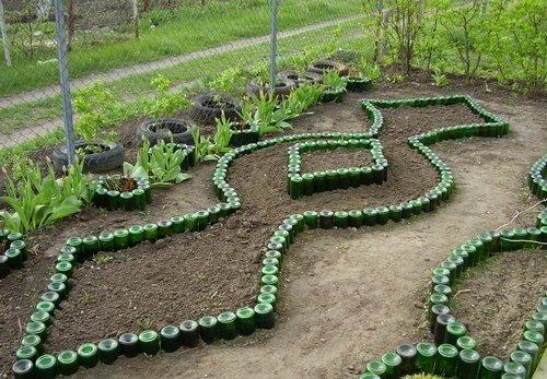 Красивые вазоны для сада своими руками
