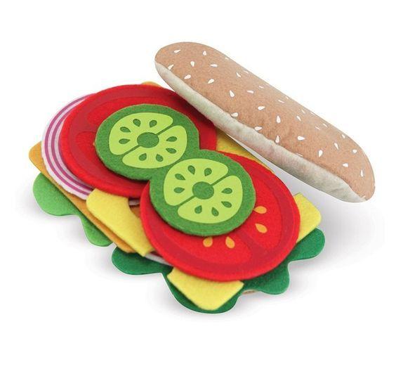 бутерброд из фетра