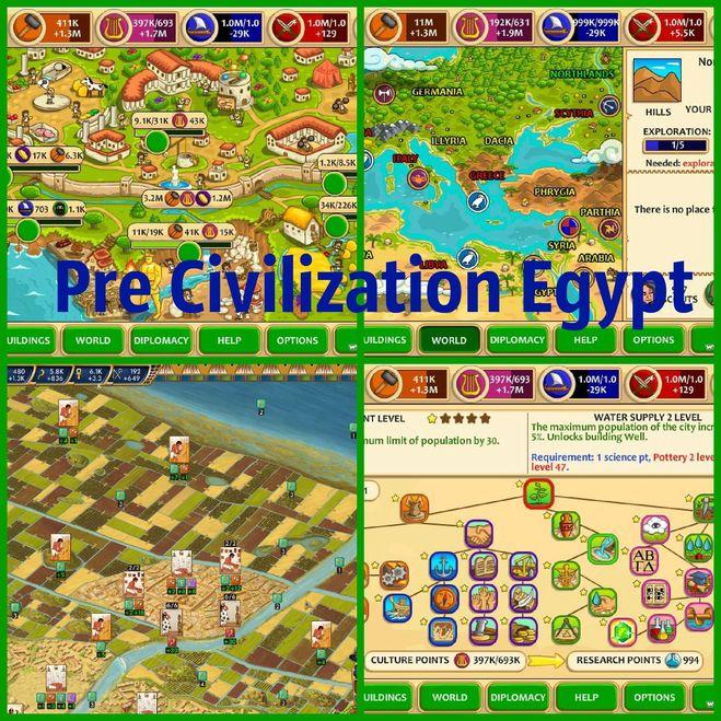 Pre Civilization Egypt