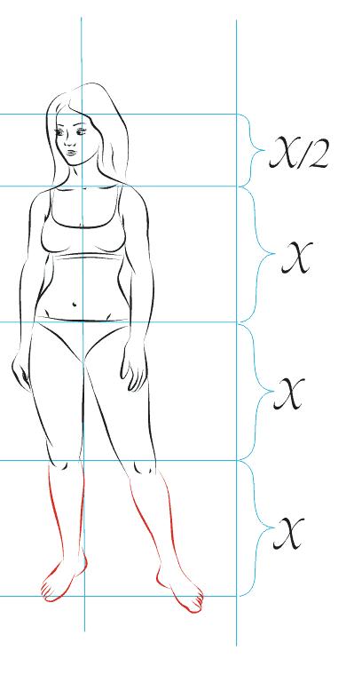 Как нарисовать голую девушку карандашом