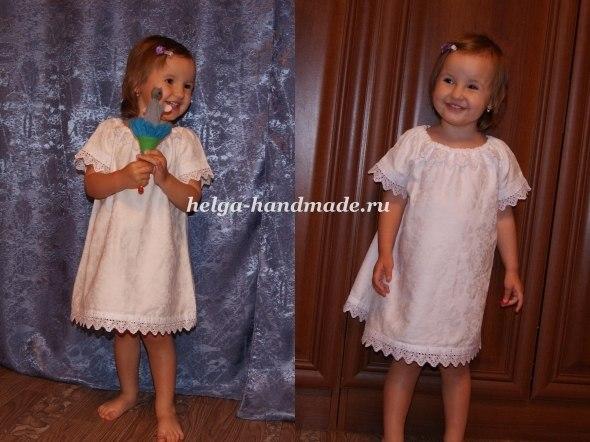 Как украсить простое платье своими руками