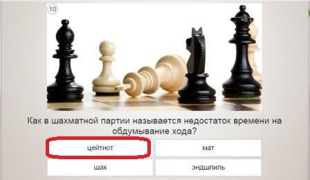 как в шахматах называют недостаток времени на обдумывание хода