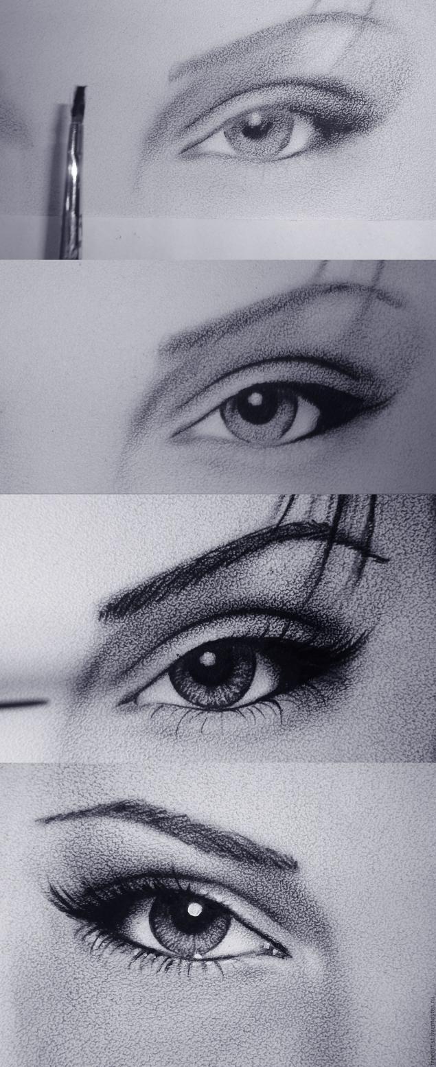 как нарисовать Анджелину Джоли2