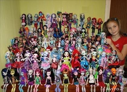 Монстер хай сколько всего кукол