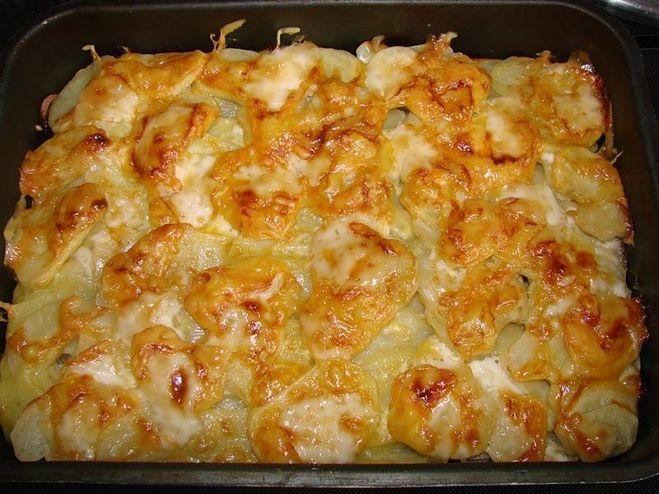 Картошка по по-французски в духовке рецепт