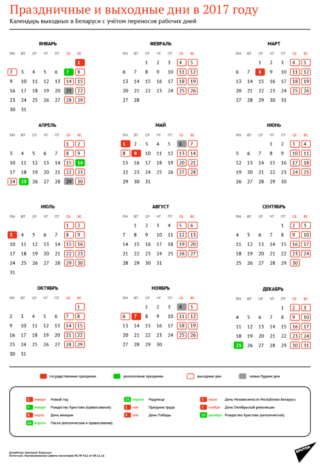 Выходные и праздничные дни болгария