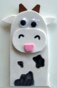 корова пальчиковая игрушка