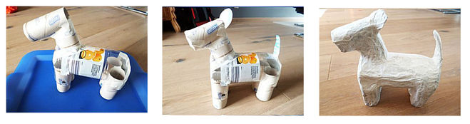 собака из папье-маше мастер-класс