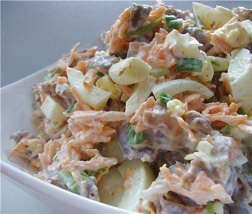Самый вкусный и простой салат в мире рецепт