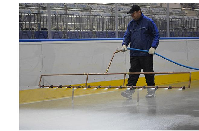 Хоккейный каток своими руками