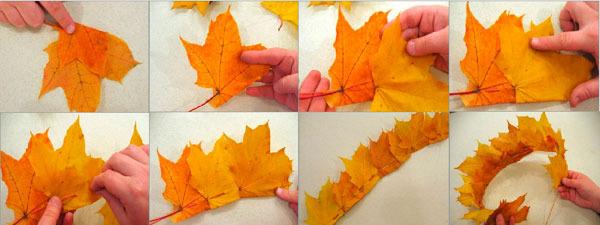 Как сделать бумагу из листьев клена 114