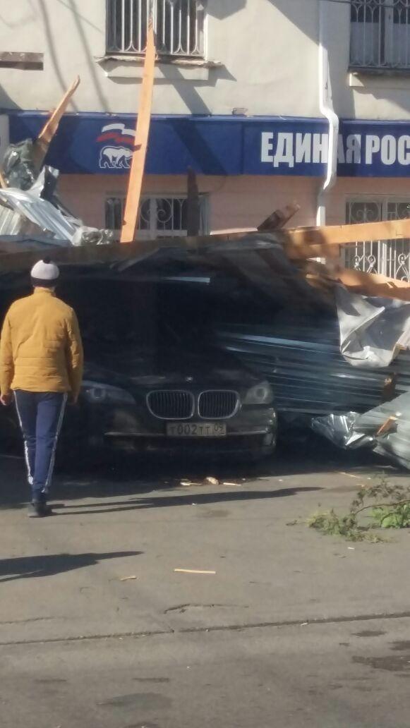 Обвалилась крыша в Черкесске
