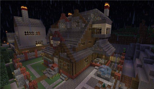 игры майнкрафт постройки домов играть