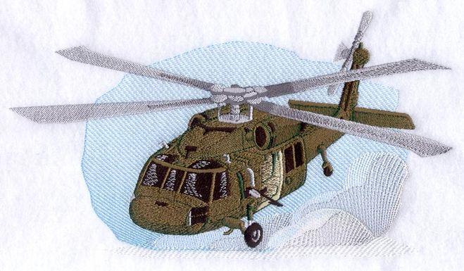 машинная вышивка бисером вертолета своими руками гладью
