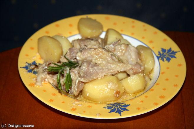 Кролик в соусе бешамель рецепт