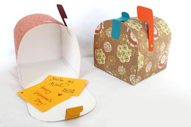 Коробка ящик для валентинок
