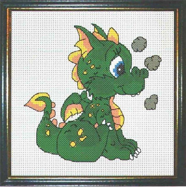 Схема вышивки год дракона фото 722