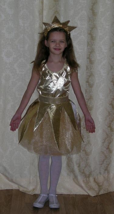 Как  сделать новогодний костюм для девочки