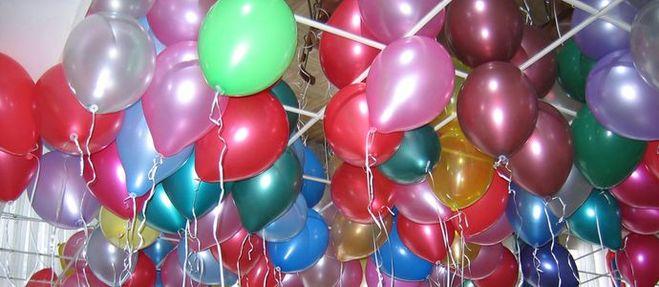 конкурс, воздушные шары