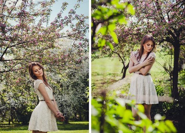 Фото на природе идеи весной