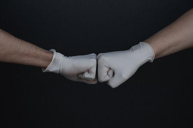 Перчатки, латексные перчатки