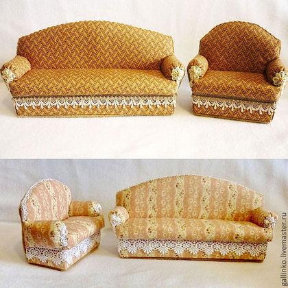 Как сделать диван для домика своими руками
