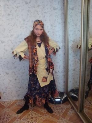Как сделать костюм бабы яги
