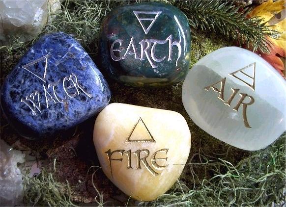 как нарисовать образы огня, воды, воздуха и земли