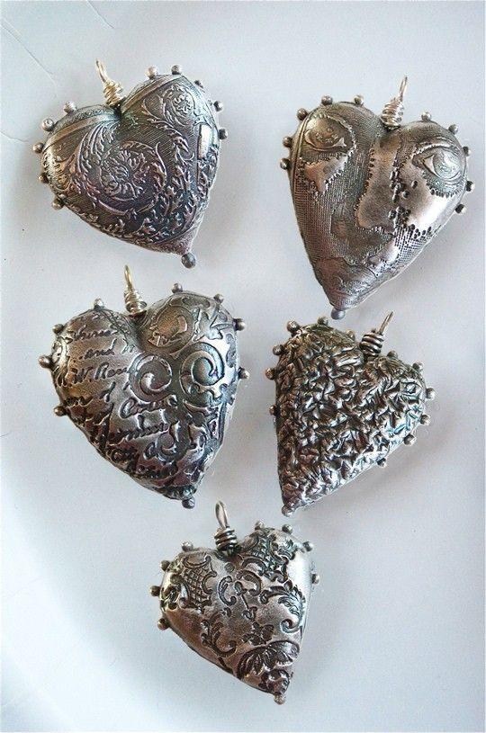 сердце из металла