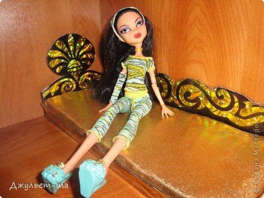 Сделать своими руками мебель кукол