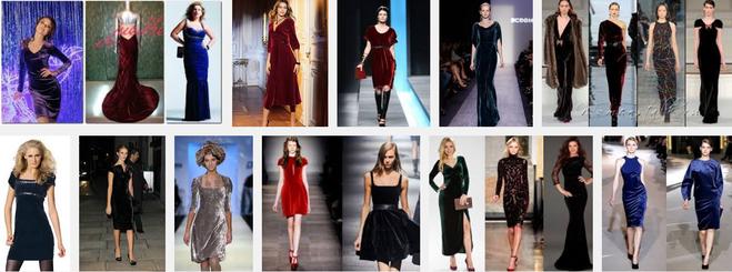 Из чего сшить бархатное платье 223